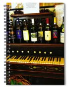 Wine And Song  Spiral Notebook