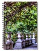 Wine And Vine Spiral Notebook