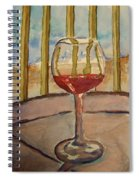 Wine By The Water Spiral Notebook
