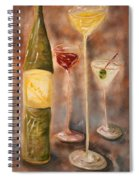 Wine Or Martini? Spiral Notebook