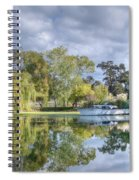 Winery Pond Spiral Notebook