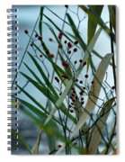 Winter And Fall Fight Spiral Notebook