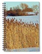 Winter Breeze Spiral Notebook