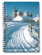 Winter, Ct Spiral Notebook