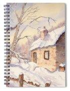 Winter Escape Spiral Notebook
