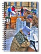 Winter Fest Artist Spiral Notebook