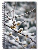 Winter Fleurs Spiral Notebook