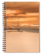 Winter Flight Spiral Notebook