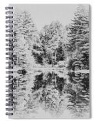 Winter Lake Spiral Notebook
