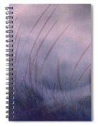 Winter Long Grass Spiral Notebook