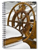 Winter On Board Spiral Notebook