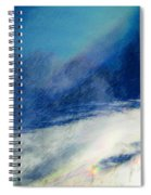 Winter Pastel Spiral Notebook