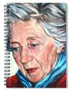 Winter Portrait Sophia Spiral Notebook