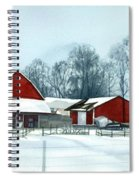 Winter Respite In The Heartland Spiral Notebook