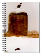 Winter Rust Spiral Notebook