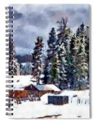 Winter Seclusion Spiral Notebook