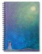 Winter Solitude 1 Spiral Notebook