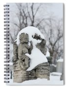 Winter Tombstone Spiral Notebook