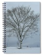 Winter Tree Spiral Notebook