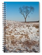 Winter Tree Nachusa Grasslands Spiral Notebook