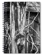 Wintered And Weathered Spiral Notebook