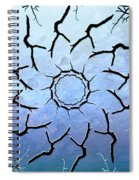 Winter's Flower Spiral Notebook