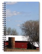 Wisconsin Farm Spiral Notebook