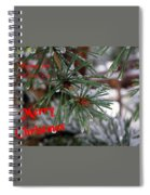 Wishing You And Yours A Merry Christmas Spiral Notebook
