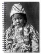 Wishram Girl 1909 Spiral Notebook