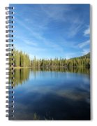 Wispy Blues Spiral Notebook