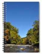 Wissahickon Blue Skies Spiral Notebook