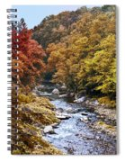 Wissahickon Creek In Fall Spiral Notebook