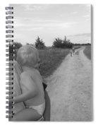 Wistful Spiral Notebook