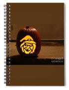Witch Pumpkin Spiral Notebook