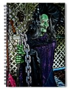 Witchy Spiral Notebook