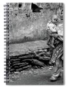 With Hands Held Tightly Spiral Notebook