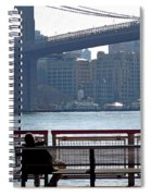With Ny In Front Of Me Spiral Notebook