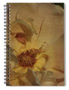 Withering Rose Spiral Notebook