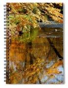 Wolcott River Reflections Spiral Notebook