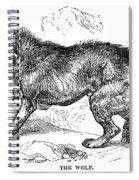 Wolf Attack Spiral Notebook