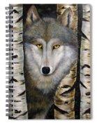 Wolf Beauty Spiral Notebook