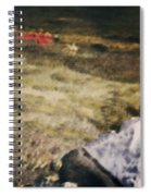 Woman In A River Spiral Notebook