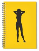 Woman Relaxed  Spiral Notebook