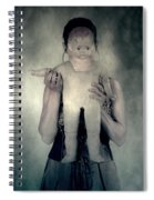 Woman With Doll Spiral Notebook
