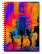 Woman With Three Legs Spiral Notebook