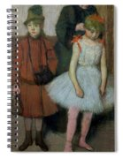 Woman With Two Little Girls Spiral Notebook