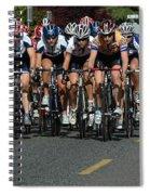Women's Criterium Tour De White Rock Spiral Notebook