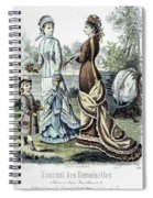Womens Fashion, 1877 Spiral Notebook