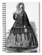 Womens Fashion, C1850s Spiral Notebook