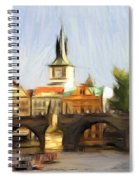 Wonderful Prague Spiral Notebook